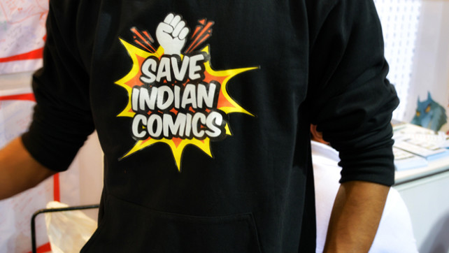 Save Indian Comics - Comic Con 2014