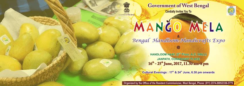 Bengal Mango Mela 2017 at Handloom Haat