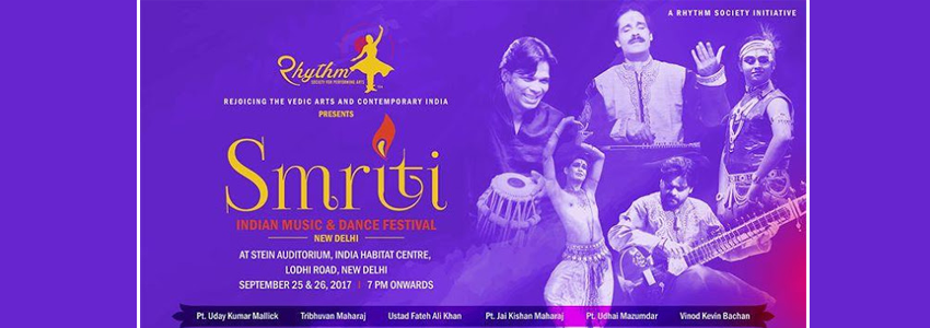 Smriti 2017 - Indian Music & Dance Festival
