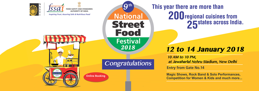 9th National Street Food Festival