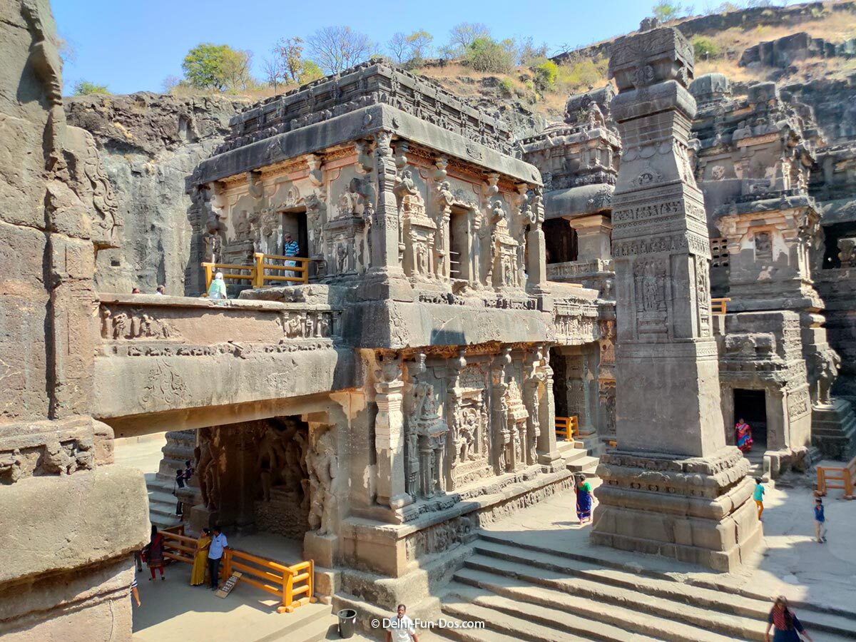 Kailasa Temple at Ellora - Places to see before you die | Delhi-Fun-Dos.com